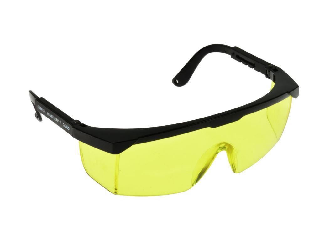 Elpošanas aizsardzība - Aizsargbrilles dzeltenas - aizsardzības brilles