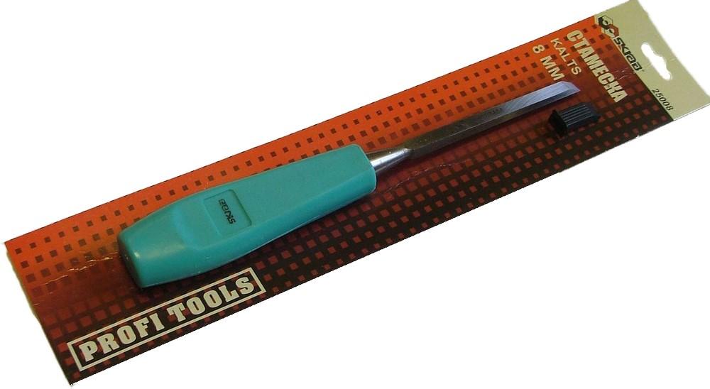 стомеска по дереву для перфоратора - Стамеска 8мм зеленая ручк - Стамески
