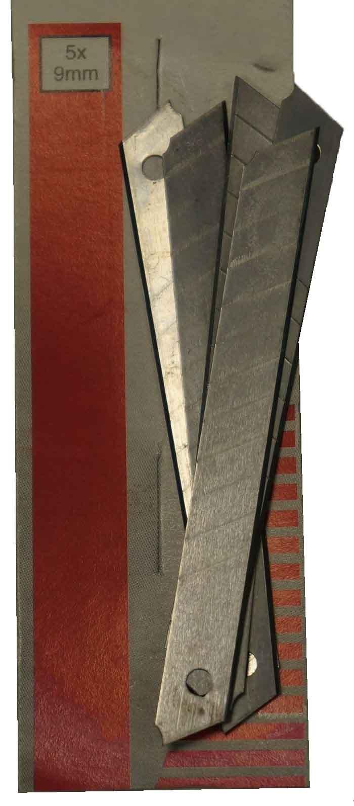Лезвия для ножей - Лезвия выдвижные 15шт. 9мм - заточка ножей латвия