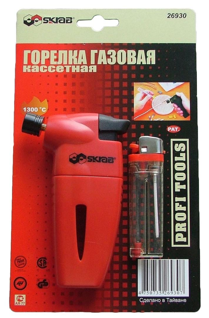 Газовые горелки, баллоны - горелка газовая для сварки - Газовая горелка + кассета