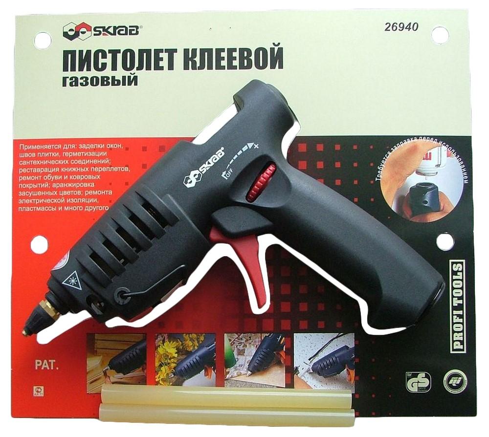 Клеевые пистолеты - Пистолет клеевой газовый