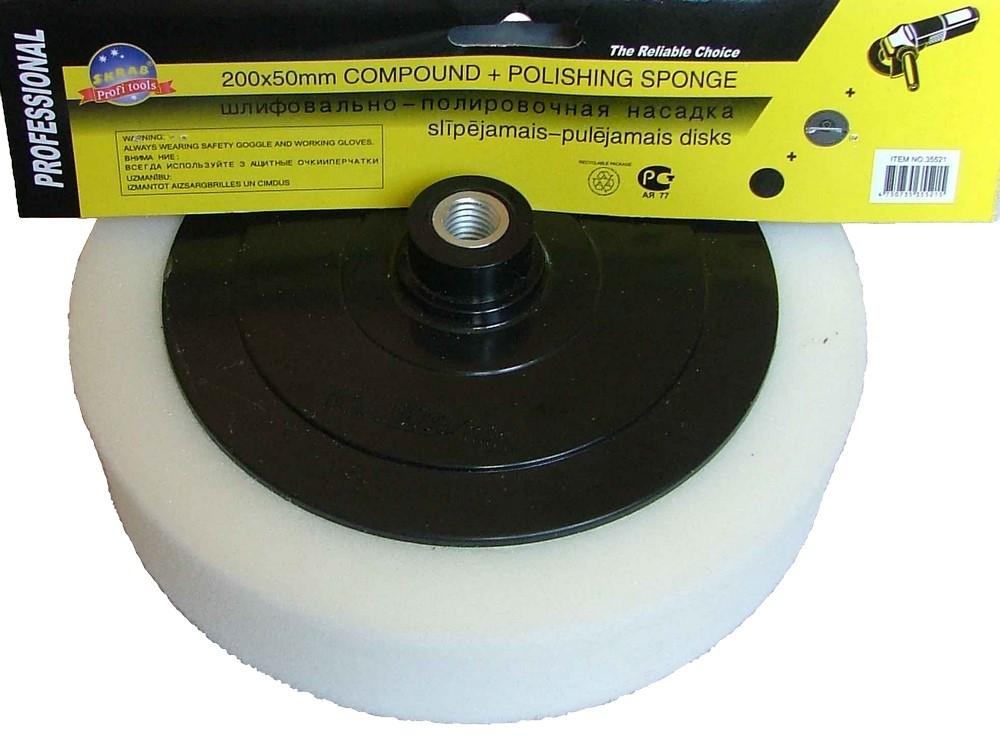 Slīpējamais pulēšana disks 200 - Slīpējamie diski - slipejamie diski propelleri