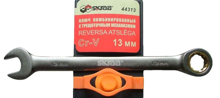 Spanner 10mm w/ratchet Sk Spanners with ratchet