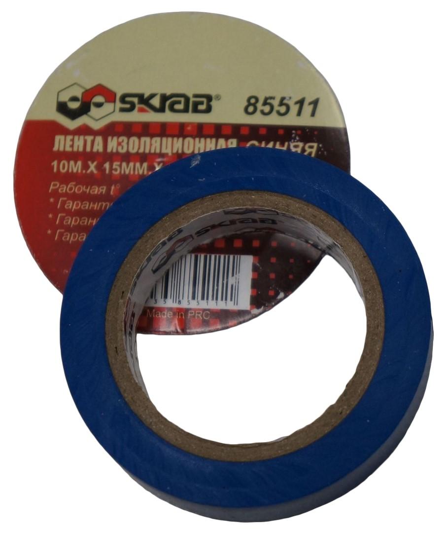 Изолента 10м*15мм красная - Изоляционная лента - щипцы для клемм skrab
