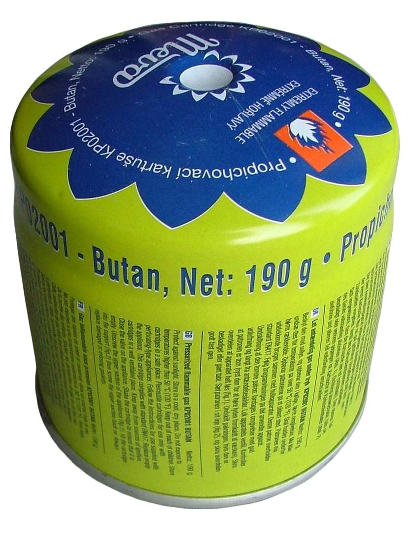 Газовые горелки, баллоны - Газовый баллон 190гр