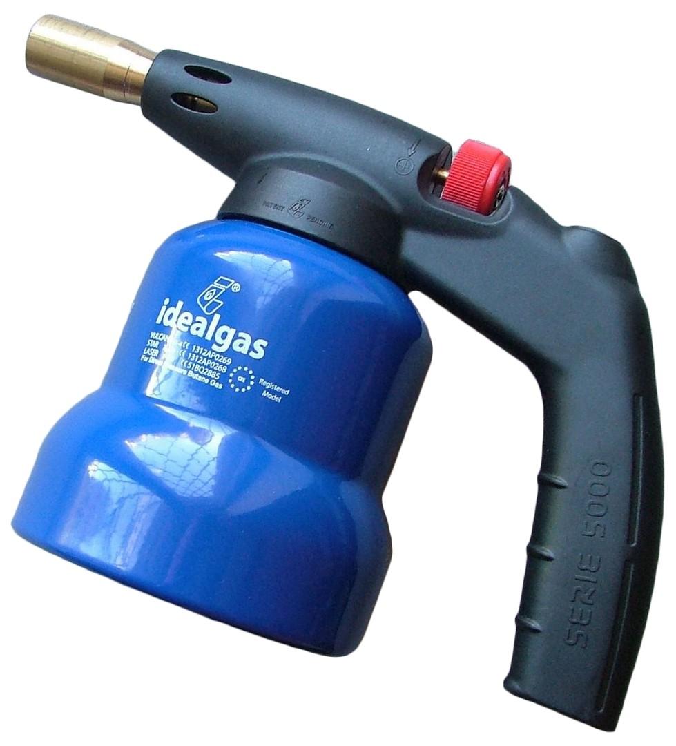 degļi lodēšanai - Gaz. deglis ar piezo met. - Gāzes degļi, gāzes baloni